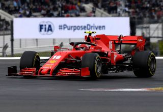 2020 Portugal GP Leclerc Ferrari medium Pirelli Photo Ferrari