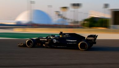 2020 Bahrain test Alonso Renault RS18 6th November 2020 Photo Renault