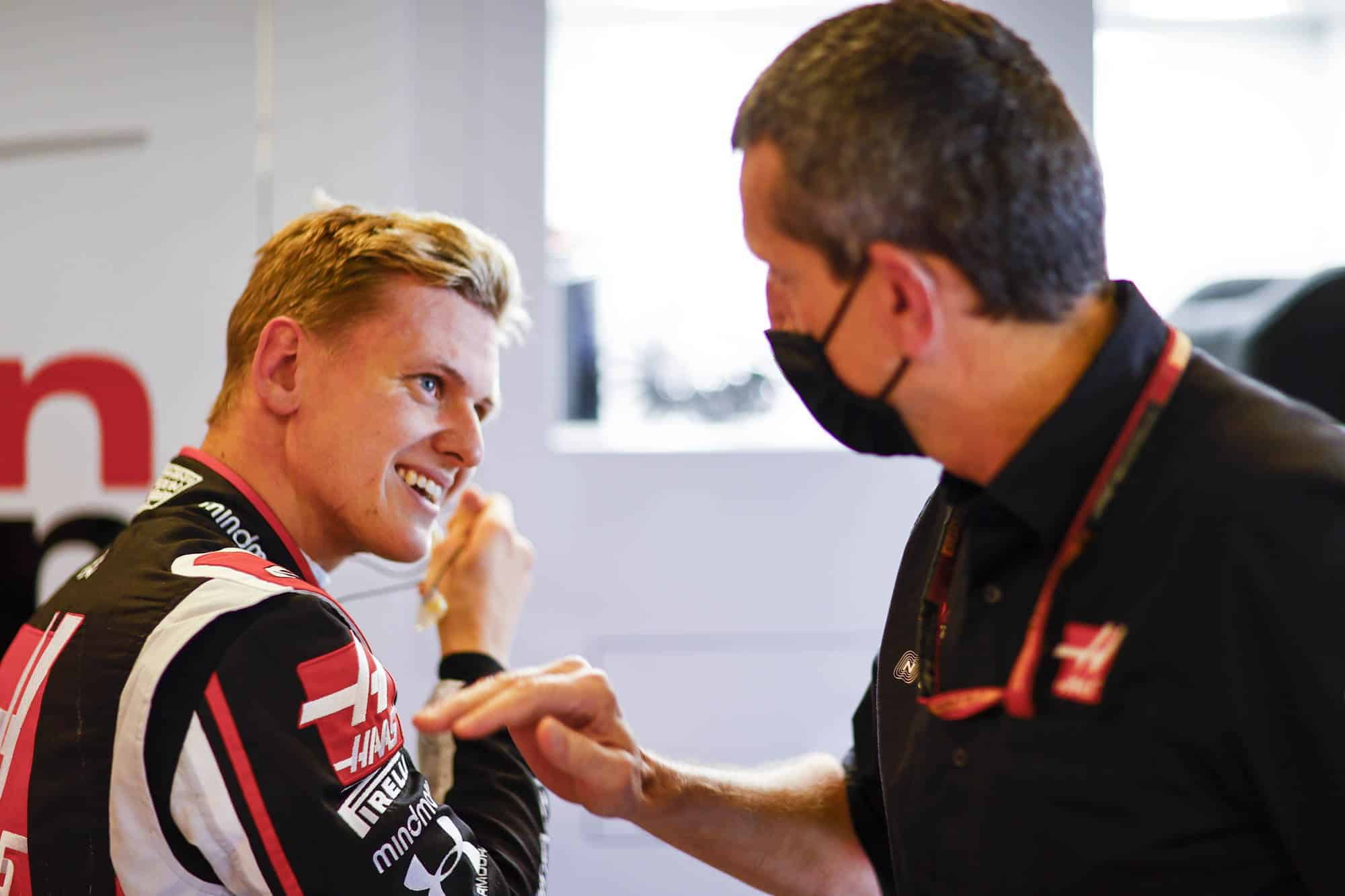 2020 Abu Dhabi GP Mick Schumacher Haas F1 team Friday in garaga Photo Haas F1 Team