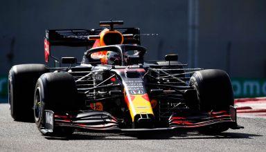 2020 Abu Dhabi GP Verstappen Red Bull FP1 hard Photo Red Bull