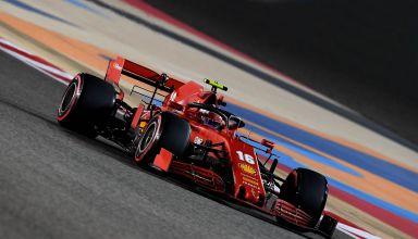 2020-Sakhir-GP-Leclerc-Ferrari-soft-Pirelli-Photo-Ferrari