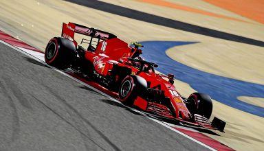 2020-Sakhir-GP-Leclerc-Ferrari-soft-Pirelli-Saturday-Photo-Ferrari