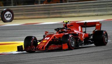 2020 Sakhir GP Leclerc Ferrari soft Pirelli race Photo Ferrari