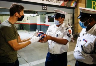 Grosjean thanks firefighters for saving his life Bahrain GP F1 2020 Photo Haas F1 Team