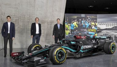 Wolff Ratcliffe Källenius INEOS buyout of Mercedes F1 team Photo Daimler