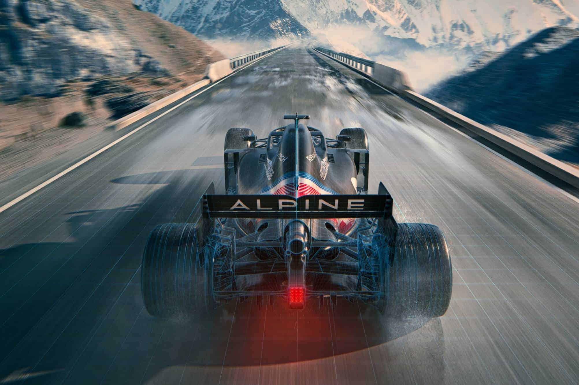 2021 Alpine F1 livery launch 3 Photo Renault Alpine Twitter