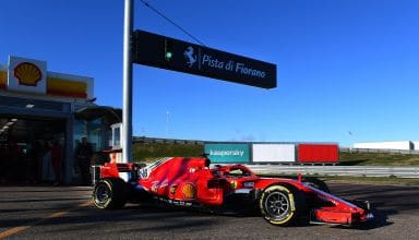 2021 Fiorano F1 test Charles Leclerc SF71H F1 2018 test 26 January 2021 Photo Ferrari