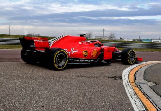 2021 Fiorano F1 test Marcus Armstrong SF71H F1 2018 test Photo Ferrari