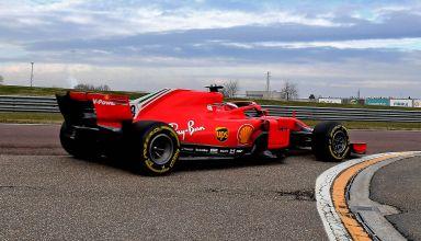 2021 Fiorano F1 test Marcus Armstrong SF71H F1 2018 test Photo Ferrari