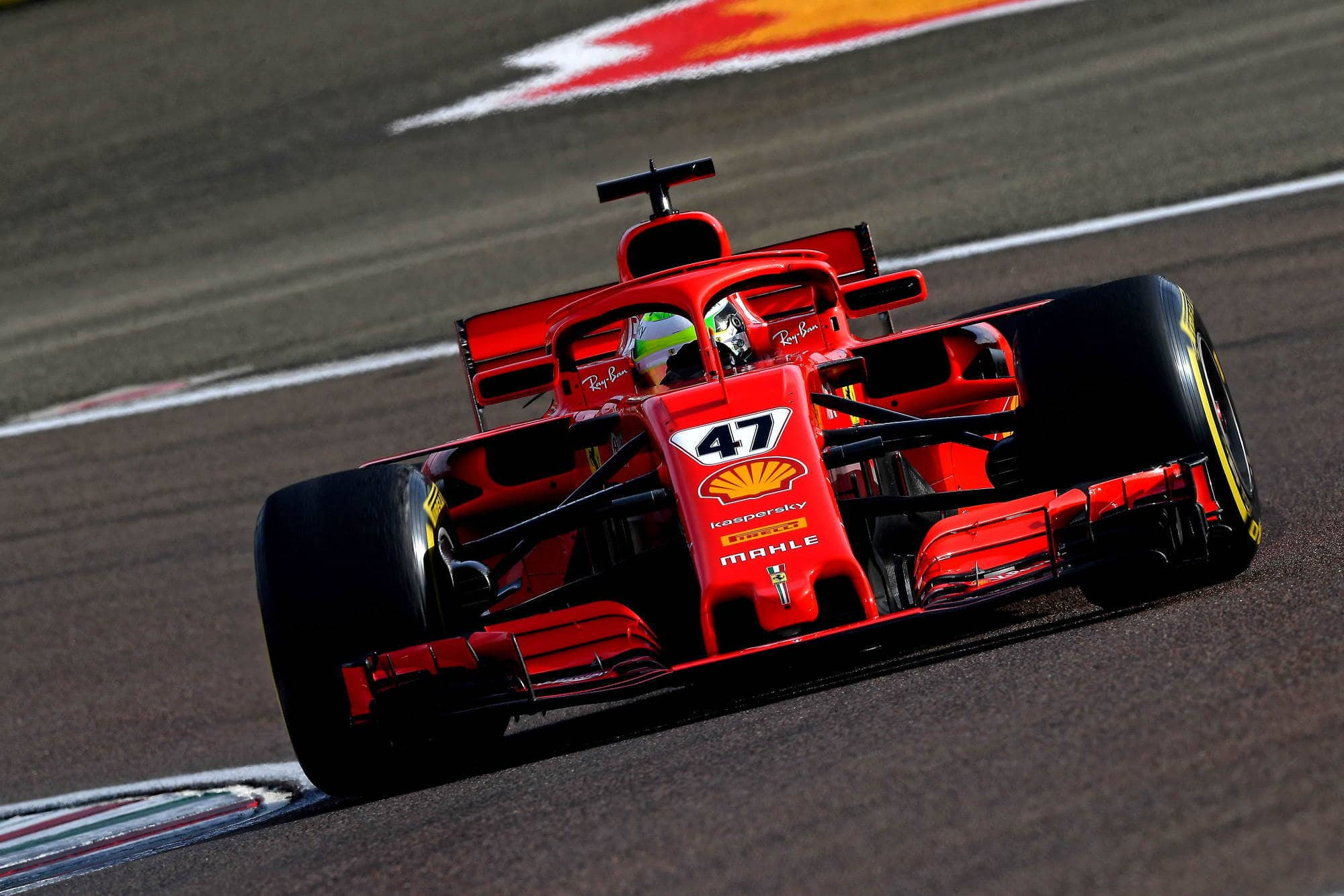 2021 Fiorano Mick Schumacher on track Fiorano Ferrari SF71H 2018 on Thu 28 Jan 2021 Photo Ferrari