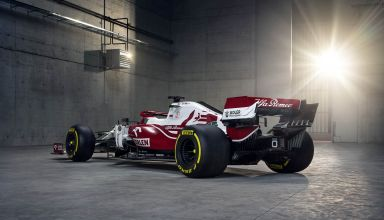 2021 Alfa Romeo C41 rear side Photo Alfa Romeo F1