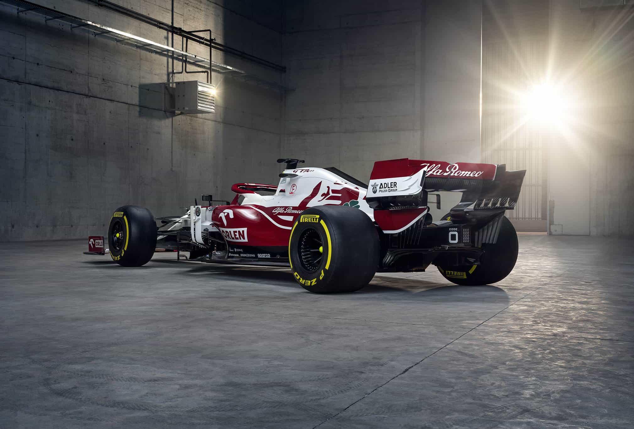 2021 Alfa Romeo C41 rear side Photo Alfa Romeo F1