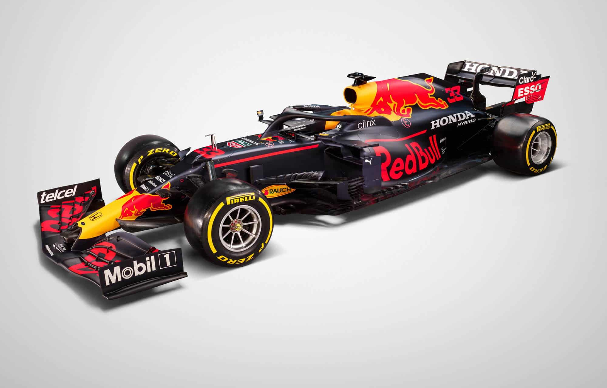 2021 Red Bull RB16B Studio Photo side Photo Red Bull
