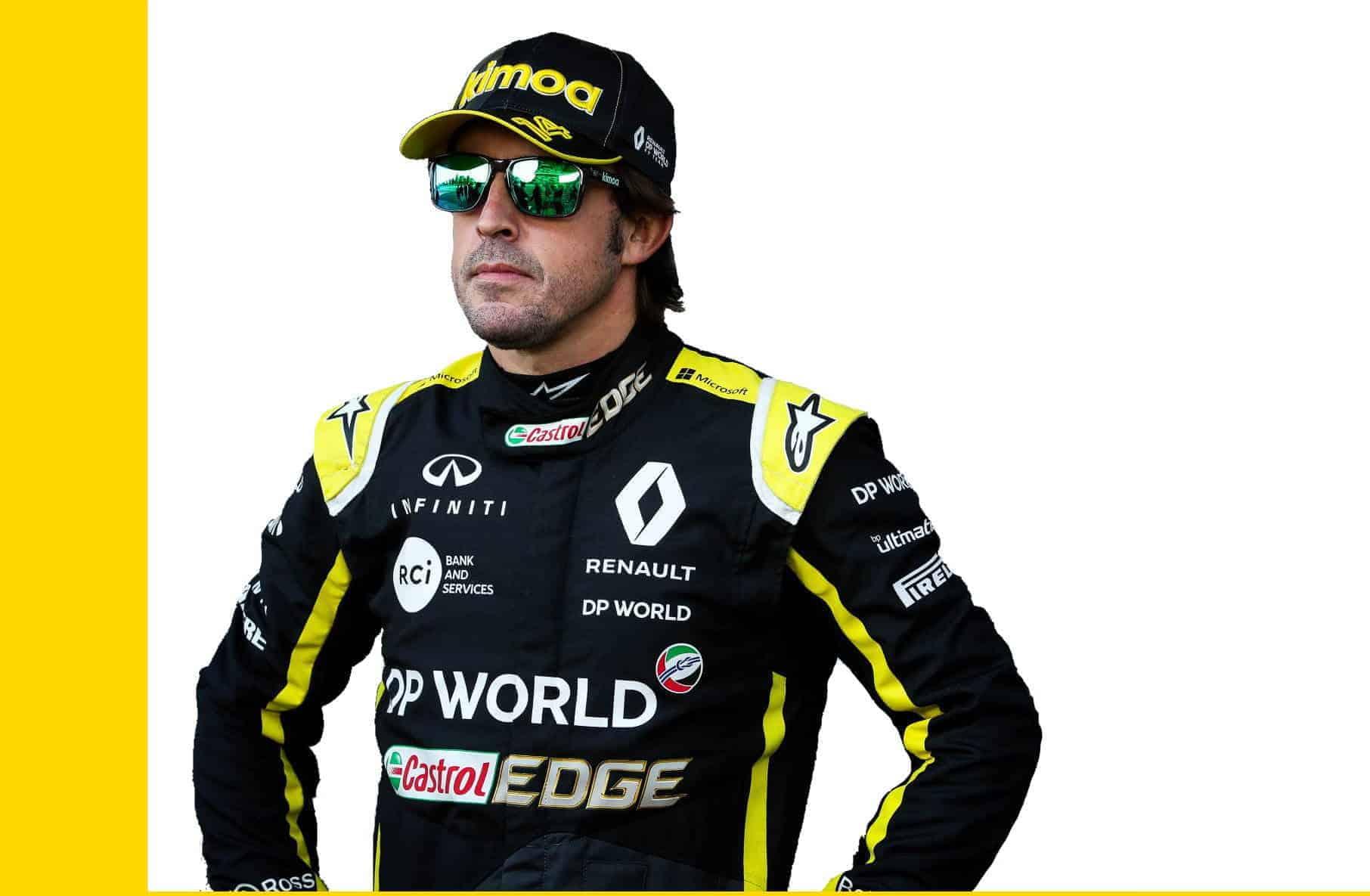 Fernando Alonso F1 2021 Photo Renault Edited by MAXF1net