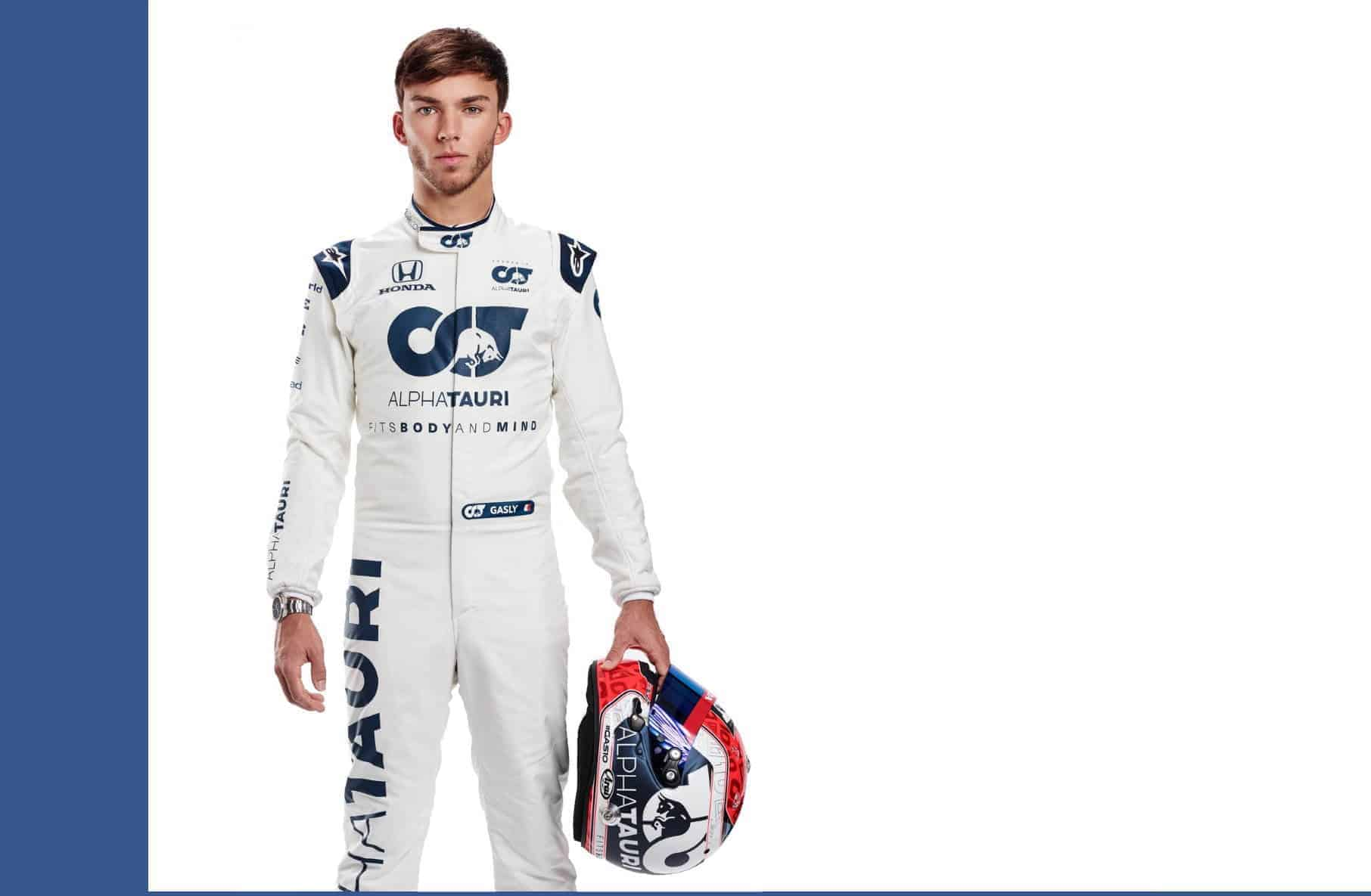 Pierre Gasly F1 2021 profile picture full size Photo AlphaTauri Edited by MAXF1net