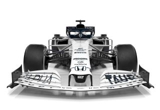 Scuderia AlphaTauri F1 2020 car AT01 front Photo Red Bull