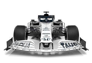 Scuderia AlphaTauri F1 2020 car AT01 front Photo Red Bull