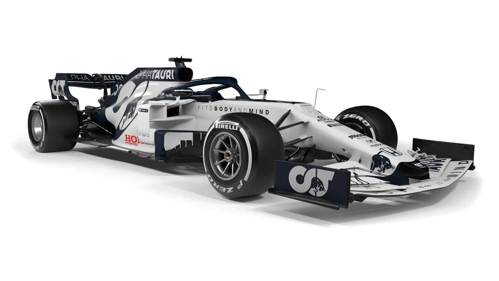 Scuderia AlphaTauri F1 2020 car AT01 side 2 Photo Red Bull