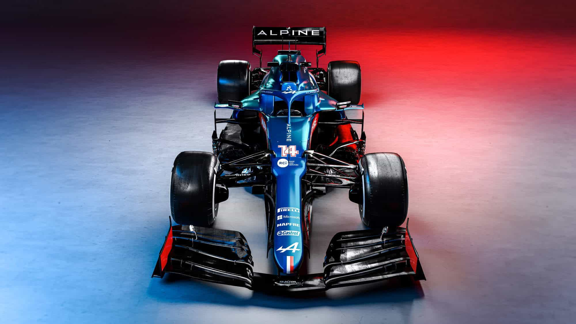2021 Alpine F1 2021 car AT521 front Photo Alpine