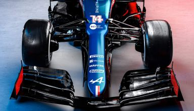 2021 Alpine F1 2021 car AT521 front hi res Photo Alpine