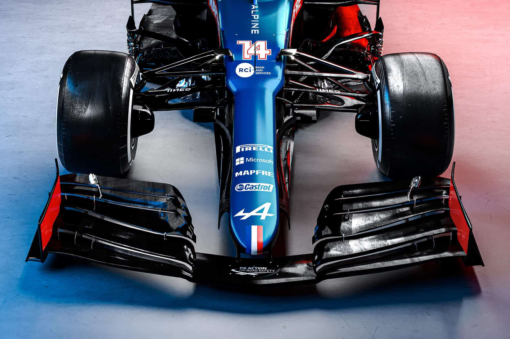 2021 Alpine F1 2021 car AT521 front hi res Photo Alpine