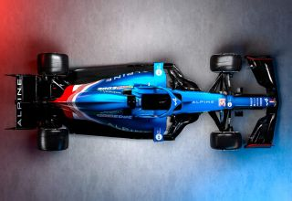 2021 Alpine F1 2021 car AT521 top Photo Alpine