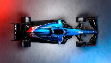 2021 Alpine F1 2021 car AT521 top Photo Alpine