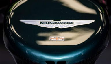 2021 Aston Martin AMR21 nose close up Photo Aston Martin