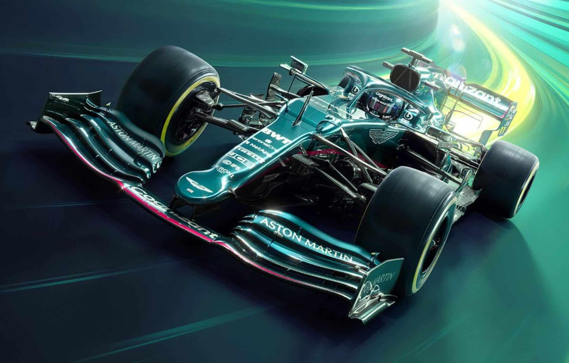 Aston Martin Cognizant F1 Team Background 10