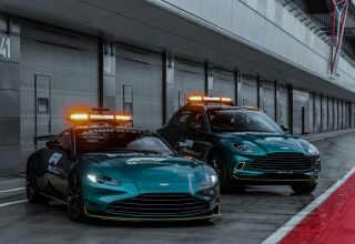 2021 Aston Martin safety and medical cars Photo Aston Martin
