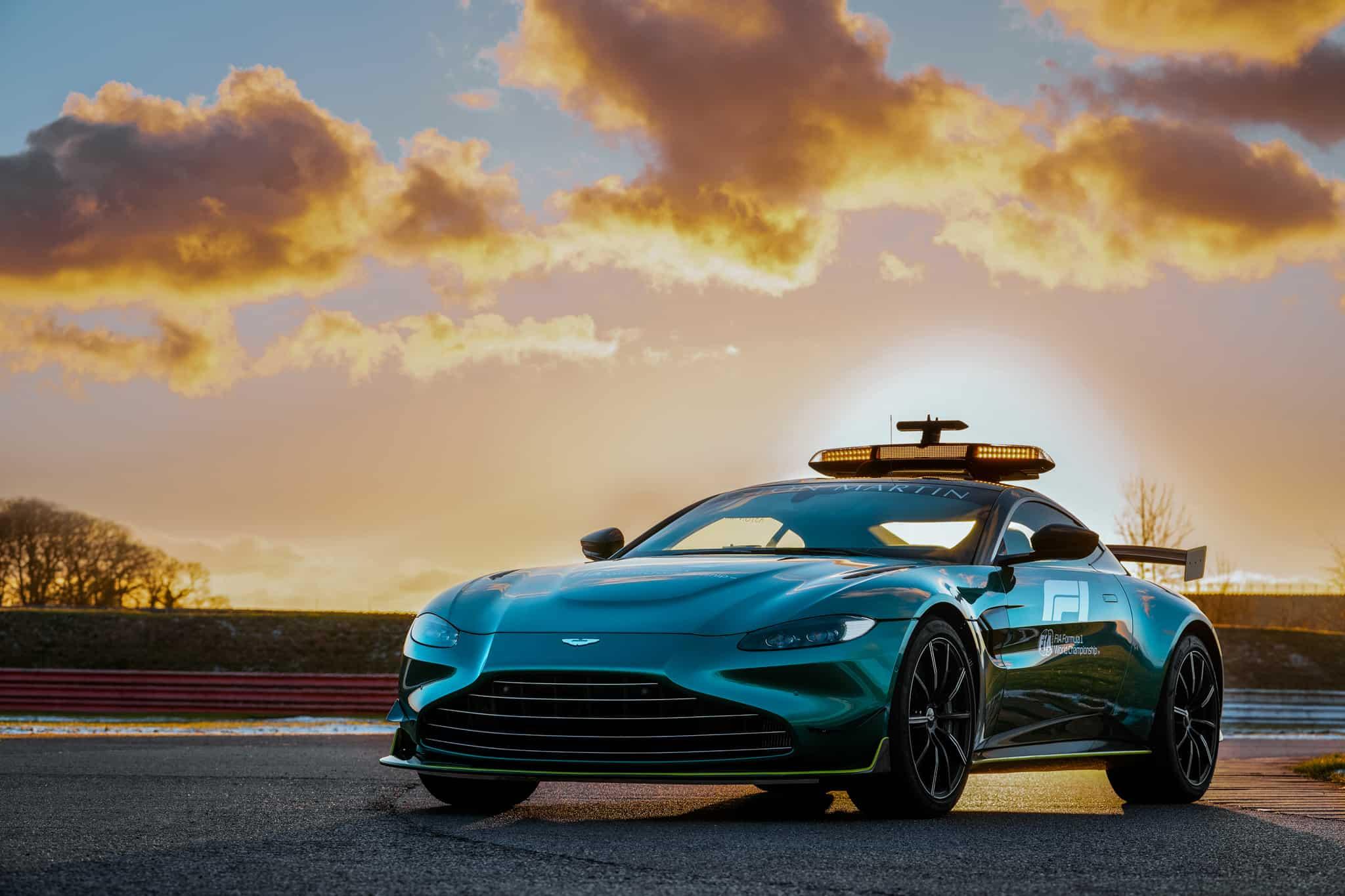 2021 Aston Martin safety car Photo Aston Martin