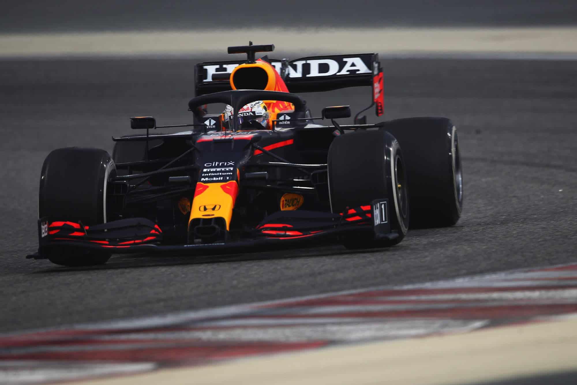 2021 Bahrain F1 Test Sunday Day 3 Verstappen Red Bull C2 Pirelli Photo Red Bull