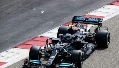 2021 Bahrain F1 test day 1 Bottas Mercedes C2 Pirelli Photo Pirelli