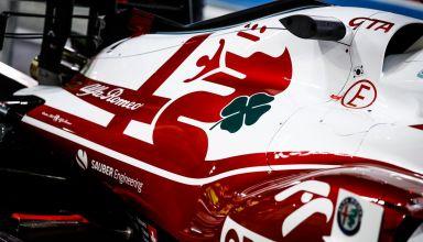 2021 Bahrain F1 testing Alfa Romeo C41 Photo Alfa Romeo