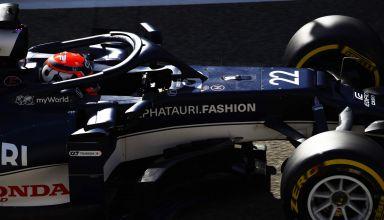 2021 Bahrain F1 testing Tsunoda AlphaTauri AT02 C3 Pirelli Photo Red Bull