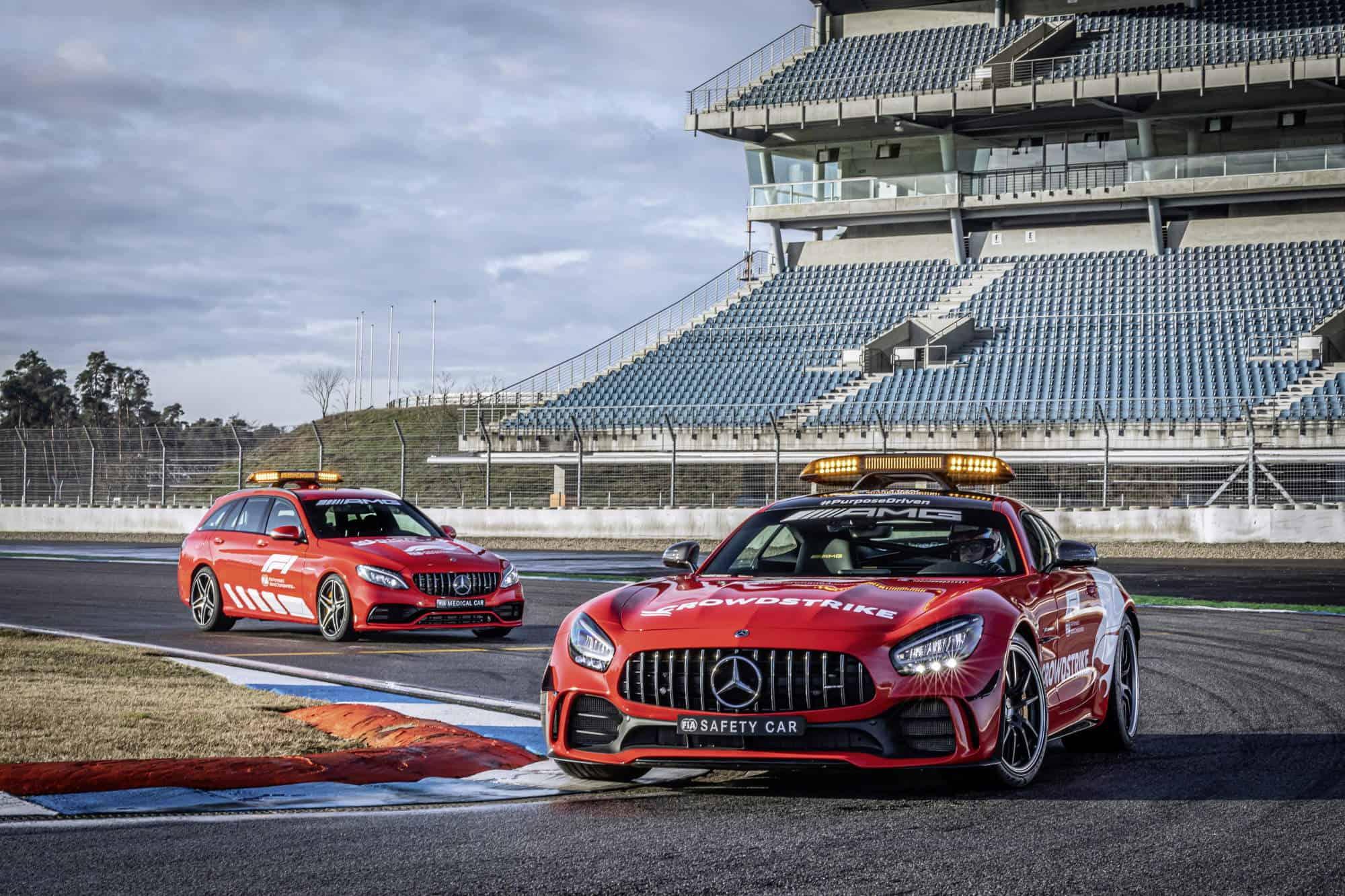 2021 Mercedes safety and medical car Photo Daimler