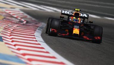 2021 Perez Red Bull Bahrain F1 test Day 2 C2 Pirelli Photo Red Bull