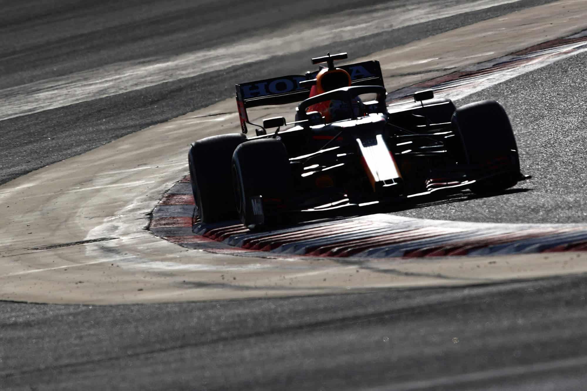 2021 Verstappen Red Bull Bahrain F1 test Day 3 Photo Red Bull