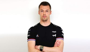 Daniil Kvyat Alpine F1 Team 2021 F1 season Launch Photo Alpine