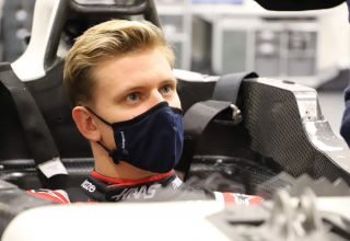 Mick Schumacher Haas F1 2021 seat fitting Photo Haas