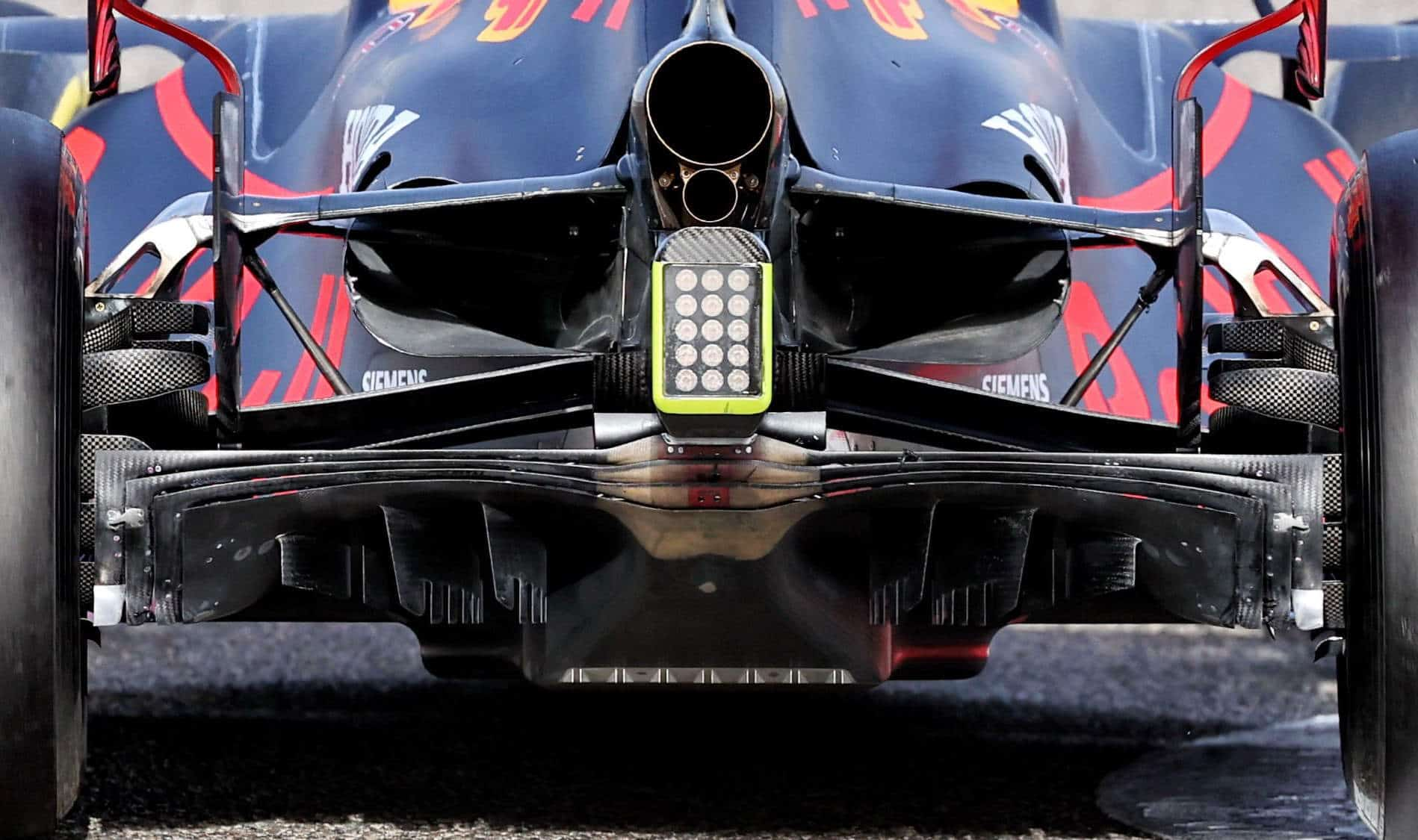 Red Bull RB16B diffuser zoom Photo Red Bull
