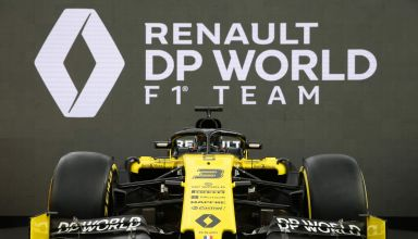 Renault F1 2020 livery Photo Renault