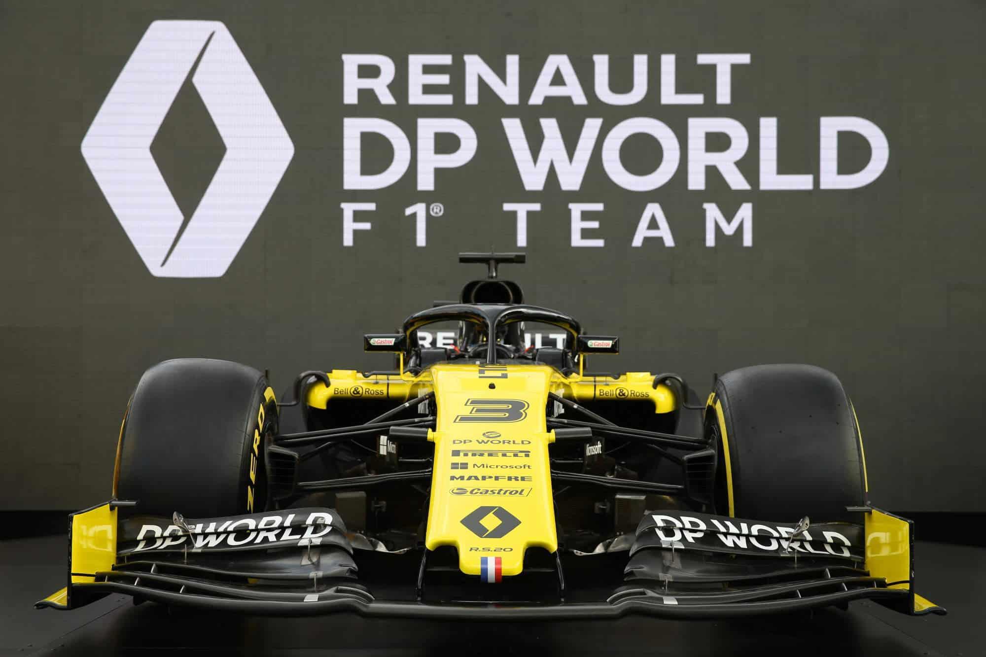 Renault F1 2020 livery Photo Renault