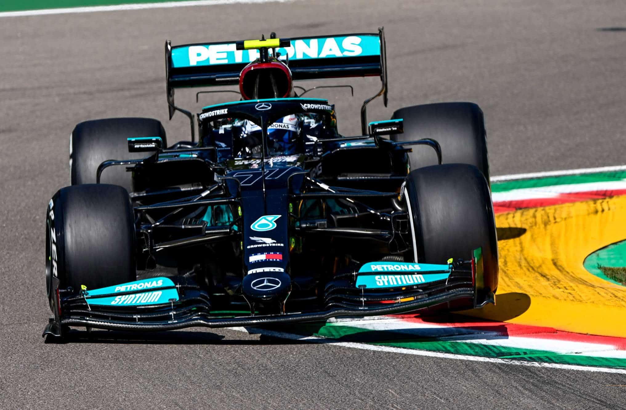 2021 Emilia Romagna GP Imola Bottas Mercedes F1 W12 Photo Daimler