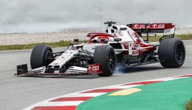 2021 In-Season Test - Spain Kubica 2019 Alfa Romeo C38 18-inch Pirelli tyres Photo Alfa Romeo