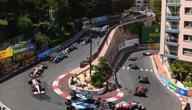 2021 Monaco GP Loews Hairpin race Photo Pirelli
