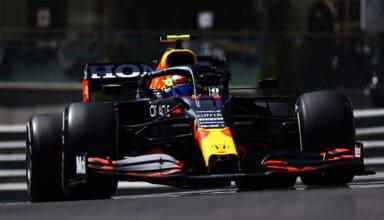 2021 Monaco GP Perez Red Bull FP1 Photo Red Bull