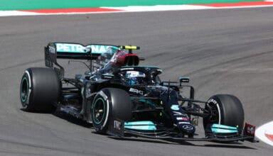 2021 Portuguese GP Bottas Mercedes Friday Photo Daimler