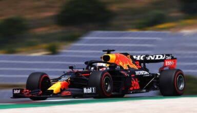 2021 Portuguese GP Verstappen Red Bull FP3 Photo Red Bull