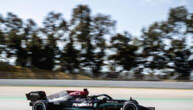 2021 Spanish GP Hamilton Mercedes Photo Daimler